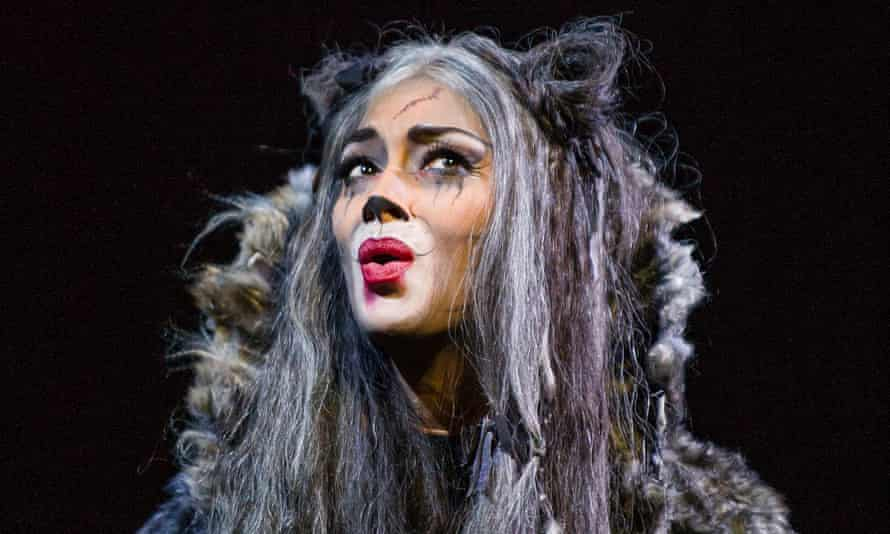 Nicole Scherzinger as Grizabella at the London Palldium.