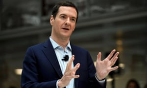 George Osborne's income from US speeches has topped £500,000.