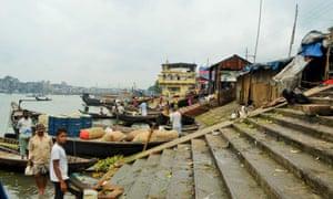 The banks of Dhaka's Buriganga River