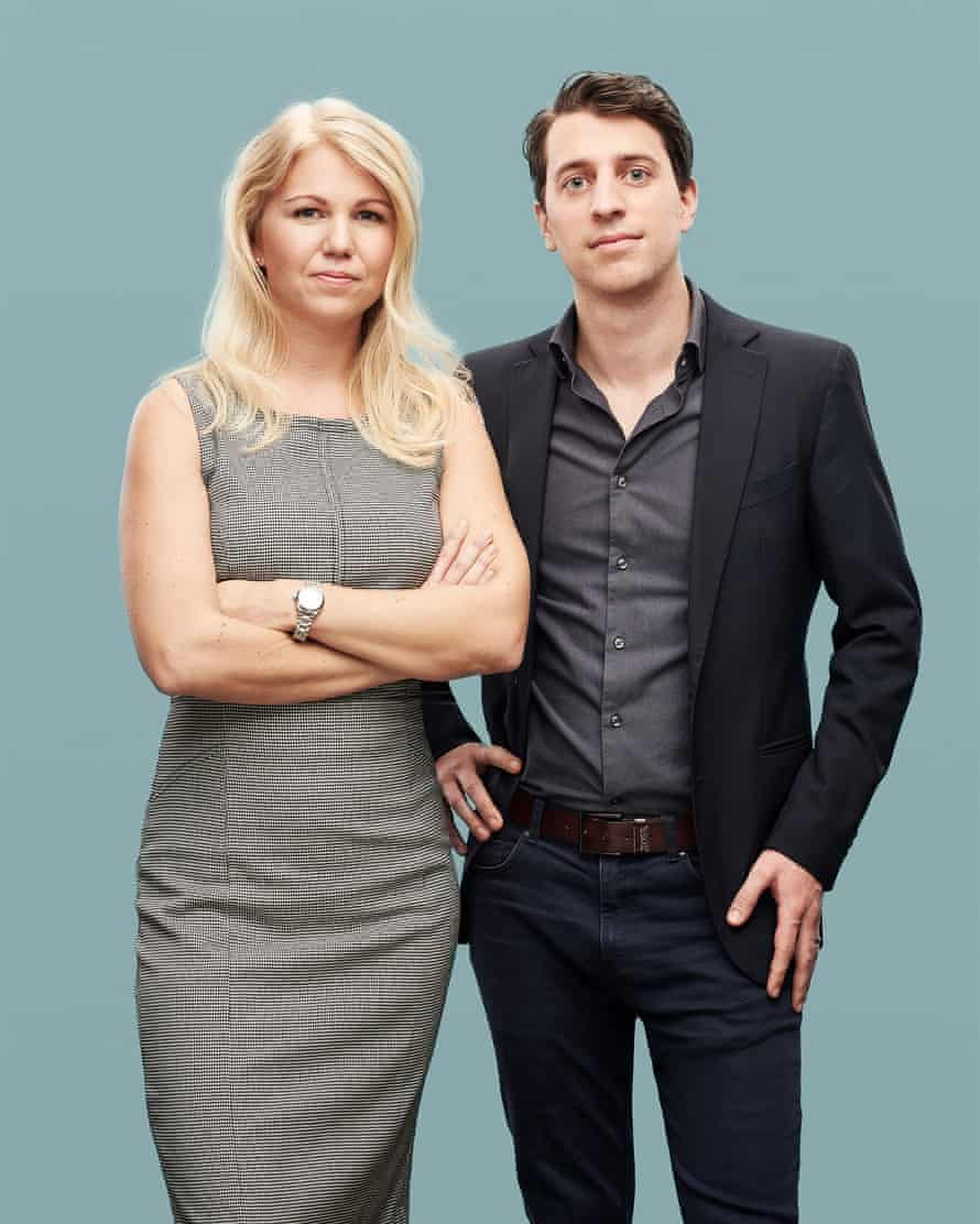 Natural cycles founders Elina Berglund and Raoul Scherwitzl