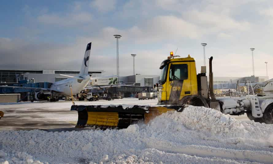 Copenhagen airport is not factored into the CO2 calculations, which has drawn criticism.