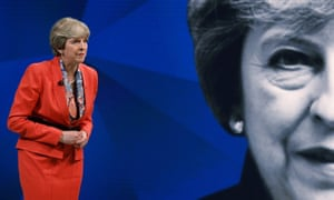 Prime minister Theresa May in the Sky News/Channel 4 programmes