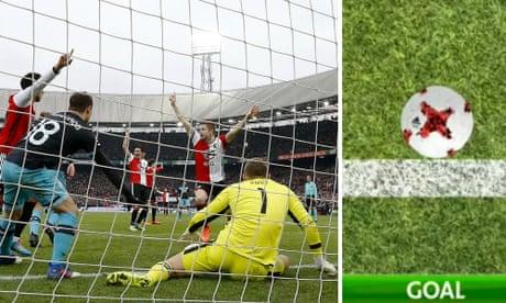 PSV keeper's own-goal blunder picked up by Hawk-Eye to crush title hopes
