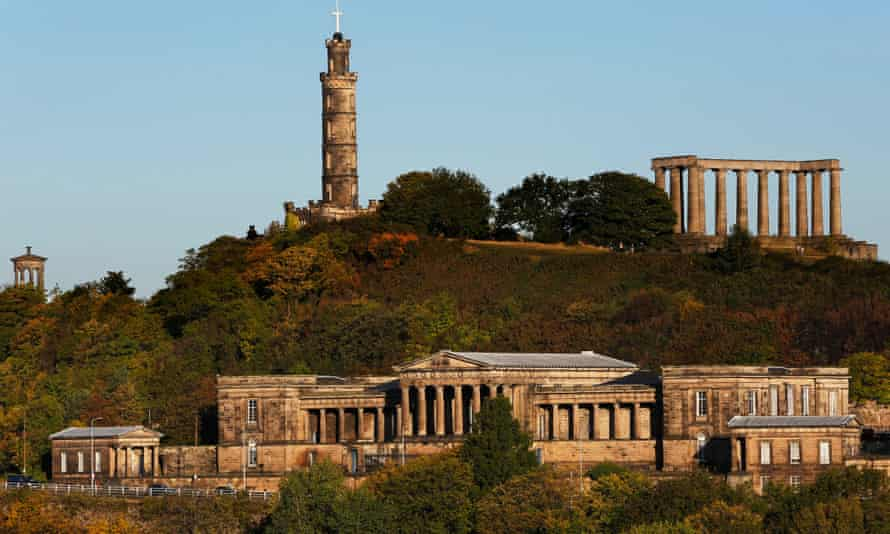 Calton Hill earned Edinburgh the nickname of The Athens of the North.