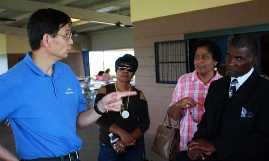 St James, Louisiana, known as cancer alley At an April community meeting hosted by YCI, Pastor Joseph and others confronted YCI CEO Charlie Yao about his company's plans to build a $1.8BN methanol plant in St. James.