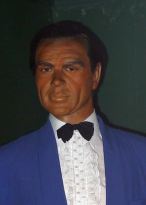 Waxwork of Sean Connery Louis Tussauds House of Wax Museum, Great Yarmouth, Norfolk, Britain