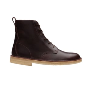 Brown boots, £120, clarks.co.uk.