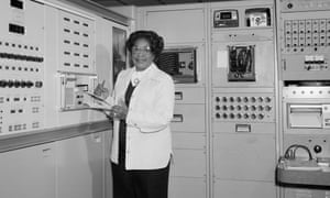 Mathematician Mary Jackson at Langley Research Centre in Hampton, Virginia, 1977.