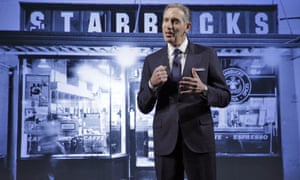 Howard Schultz, Starbucks CEO.