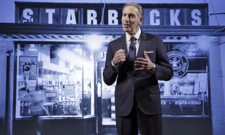 Howard Schultz, Starbucks CEO.