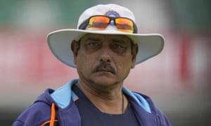 L'allenatore dell'India Ravi Shastri