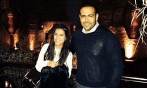 Amal Eldarat and her brother Mohamed Eldarat.