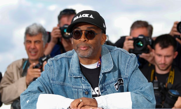 Spike Lee at the Cannes film festival in 2018.