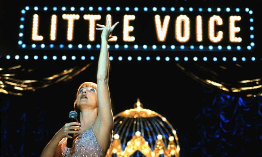Jane Horrocks in Little Voice.