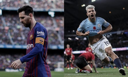 Lionel Messi was on the losing side this weekend while his Argentina teammate was enjoying another three points in Manchester United.