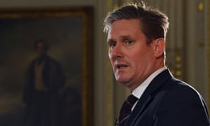 Keir Starmer: 'There is chaos at the heart of government. Theresa May cannot unite her cabinet or her party behind this deeply flawed bill. '