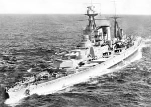 an eyewitness account of the sinking of the bismarck