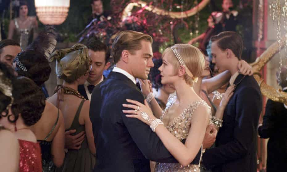 Gorgeous and doomed … Leonardo DiCaprio as Jay Gatsby and Carey Mulligan as Jordan Baker in The Great Gatsby (2013).