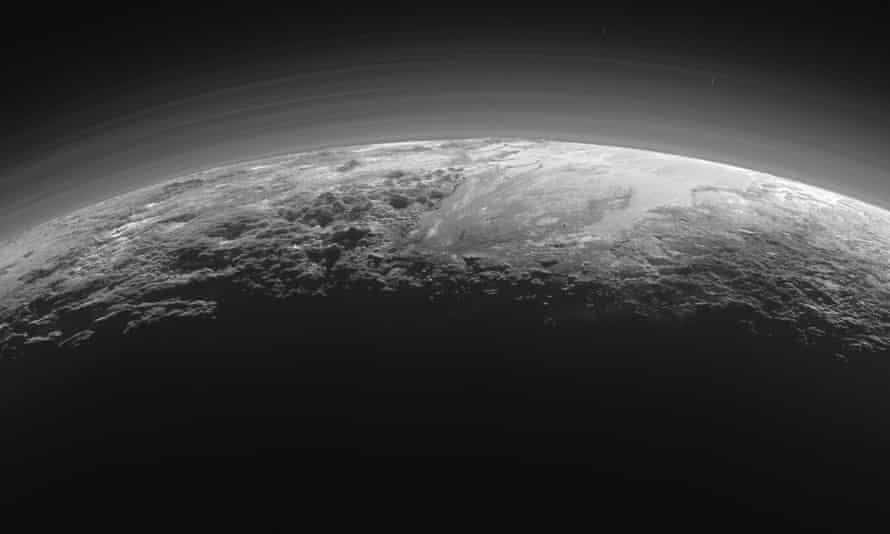 A Nasa image of Pluto.