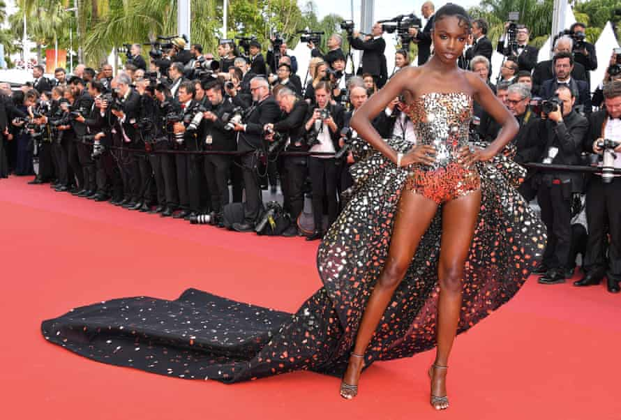 Leomie Anderson at Cannes in May