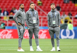 England's Ruben Loftus-Cheek, Jack Butland and Gary Cahill did not feature on Tuesday in Moscow.