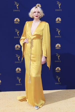 Gwendoline Christie from Game of Thrones arrives.