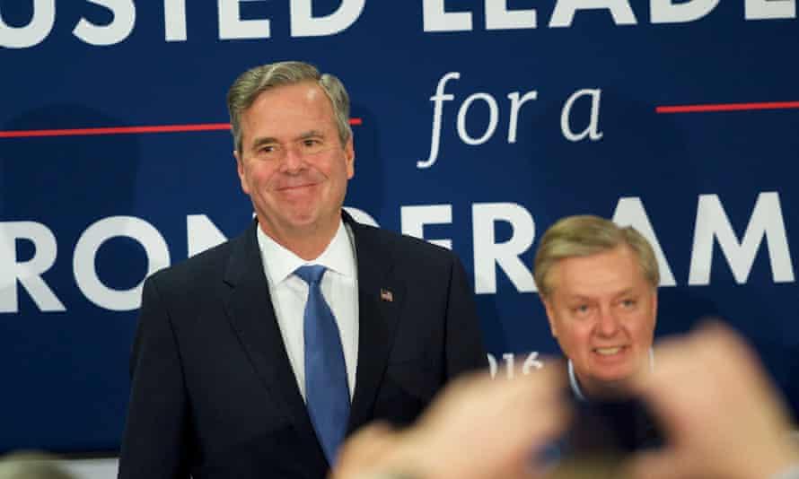 Republican presidential candidate Jeb Bush has announced the suspension of his campaign.