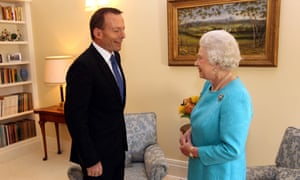 Tony Abbott and the Queen