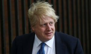 Britain's Foreign Secretary Boris Johnson.