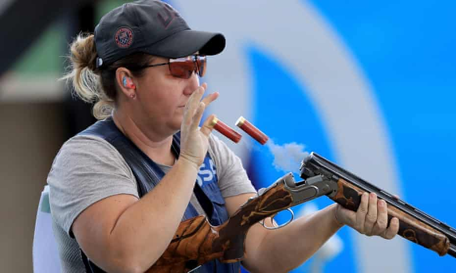 Kim Rhode first won an Olympic medal in 1996