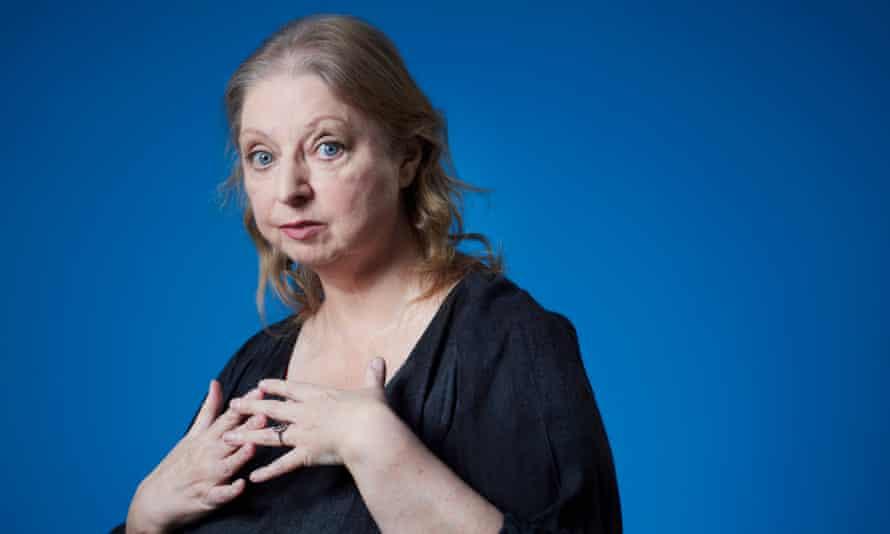 Hilary Mantel, author. Budleigh Slaterton, Devon. Photograph by David Levene 31/1/20