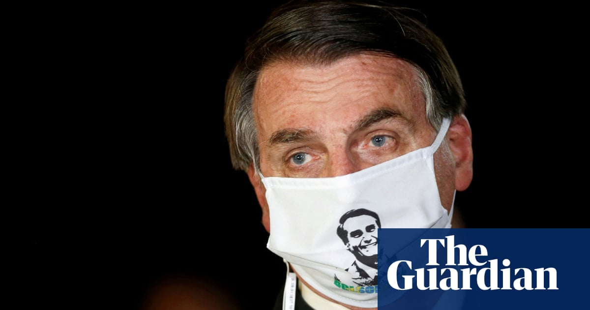 Brazilian president Jair Bolsonaro tests positive for coronavirus - The Guardian