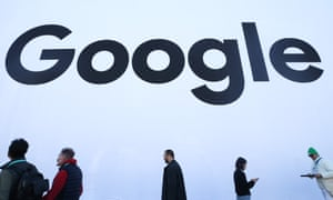 The Google pavilion at CES 2020 on 8 January 2020 in Las Vegas, Nevada.