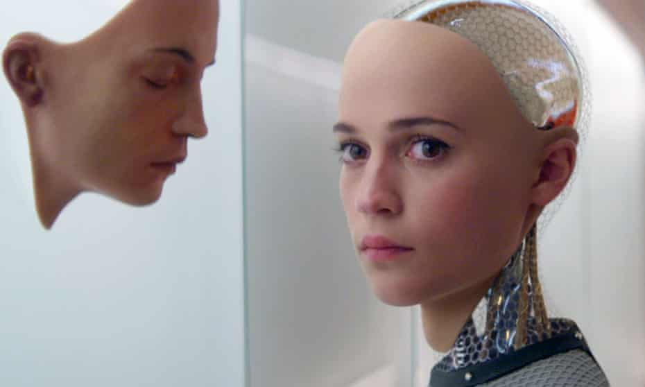 A scene from Ex Machina directed by Alex Garland, one of the industry professionals BFI Film Academy students can study under.