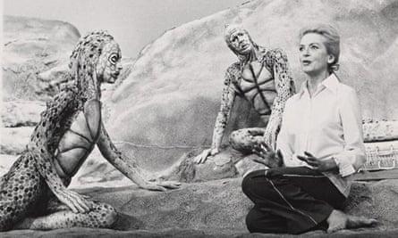 Deborah Kerr in Seascape, 1975