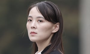 Recently reinstated to the politburo, Kim Yo-jong's public statements are watched as a signal of her brother's position