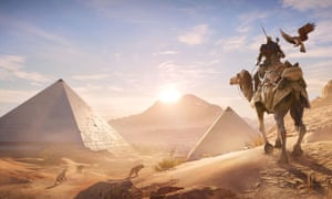 'Video games have tremendous potential, not just for fun' … Assassin's Creed Origins.
