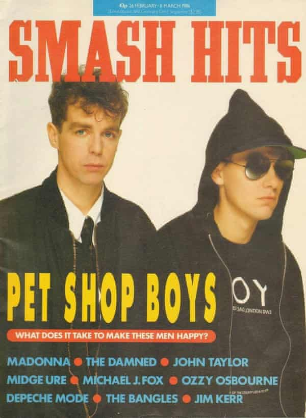 Smash Hits, March 1986 with the Pet Shop Boys on the cover