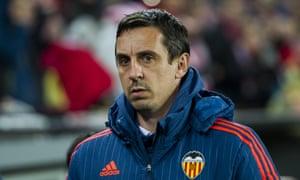Gary Neville at Valencia
