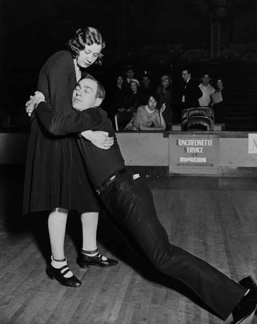 No more … a dance marathon in Chicago, 1931.