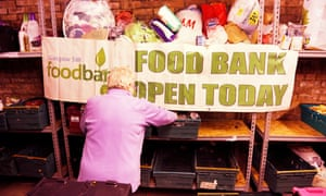 Food bank in Glasgow