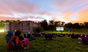 Summer nights cinema, Wollaton Park, Nottingham