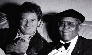 Julian Piper with BB King, right