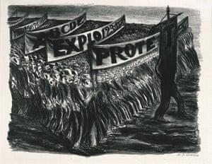 Jose Clemente Orozco – Manifestación.