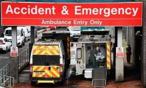 'Every day now there are over 10 ambulances waiting outside the emergency department.'