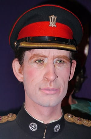 Waxwork of Prince Charles Louis Tussauds House of Wax Museum, Great Yarmouth, Norfolk, Britain