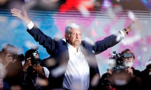 Amlo has promised to rule with frugality, selling the presidential plane, swapping limousines for a Volkswagen Jetta and taking a 60% pay cut.