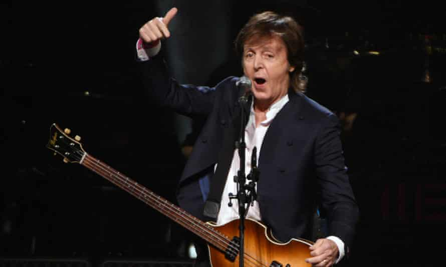 Paul McCartney … shake your money maker.