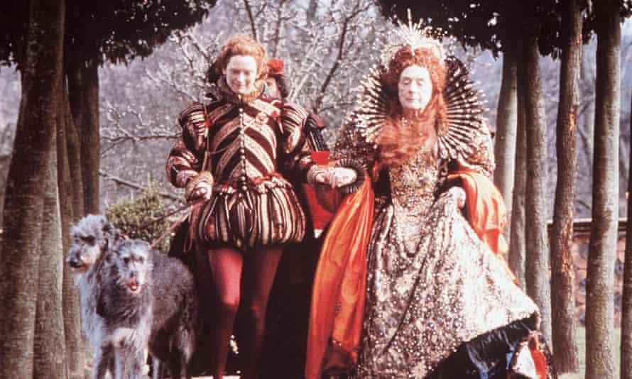 Tilda Swinton as Orlando, left, in the 1992 film adapted from Virginia Woolf's novel.