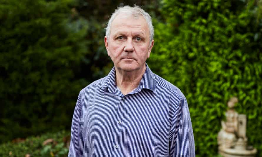 Tony Fitzgerald was barred from seeing his wife, Ann, in April before she died in hospital